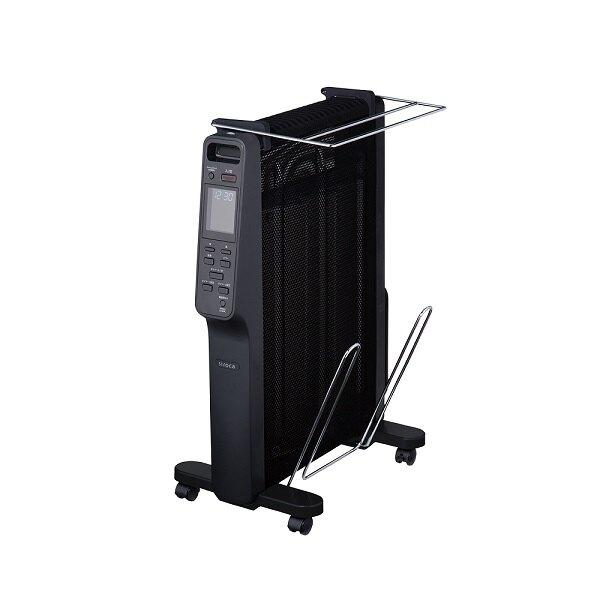 【結帳再折$300】Siroca 速暖式雲母電暖器 SH-M1510 (K) 超輕量設計