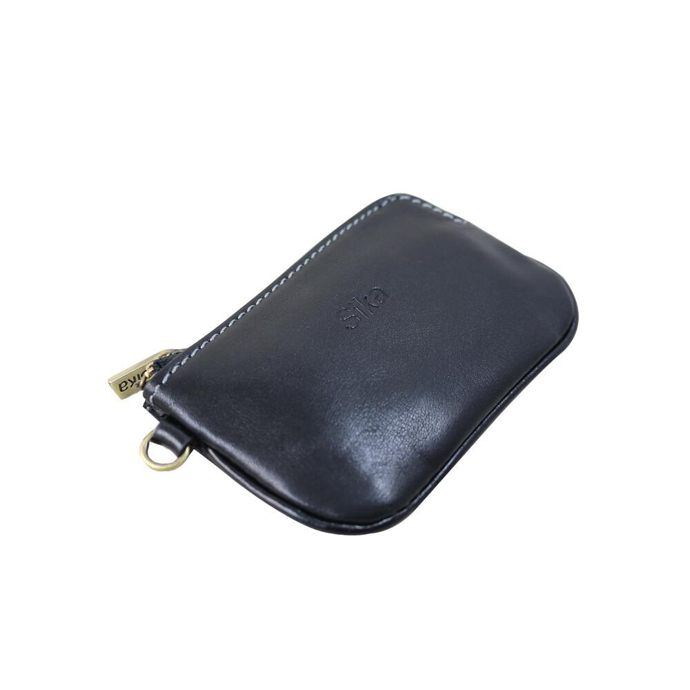 sika零錢包-質感黑