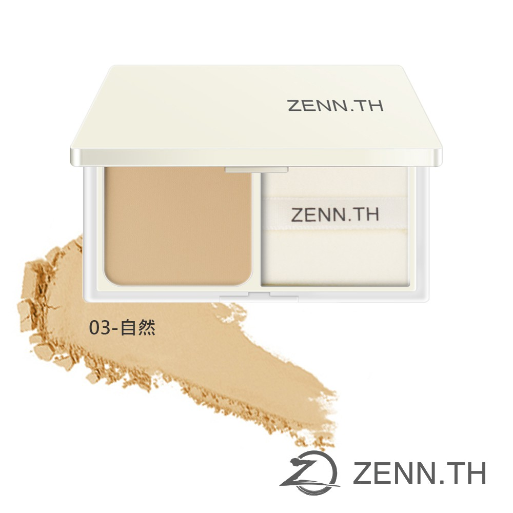 ZENN.TH 簡單蜜粉餅03-自然 10g 粉質柔軟 輕薄服貼 柔焦妝感