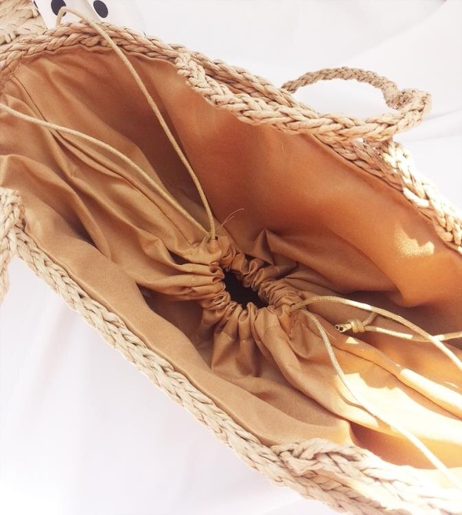 編織包 ins網紅純手工女草編包單肩手提包海邊度假沙灘包菜籃子包