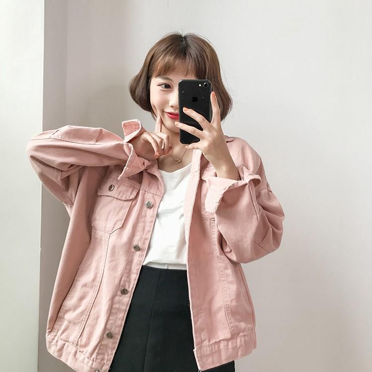阿華有事嗎 AUHA 韓系女裝 純色牛仔小外套 4色售 C0819 韓妞必備 百搭顯瘦基本款