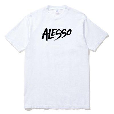 Alesso Logo 全球百大DJ短袖T恤 2色 電音舞曲派對EDM