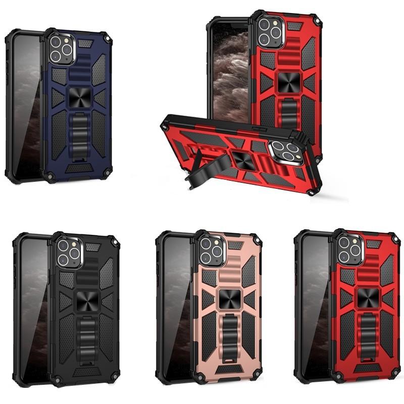 【現貨】磁吸車載隱形支架iPhone11 Pro Max XR XS手機殼SE2 i7 8plus i6 防摔保護套