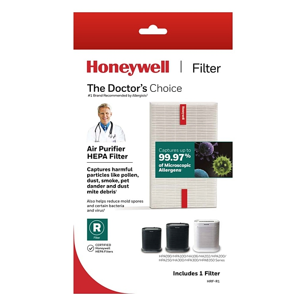 【原廠濾網】Honeywell 耗材 HRF-R1 HEPA 濾網 (1入) 適用HPA-100APTW 200APTW 300APTW CONSOLE