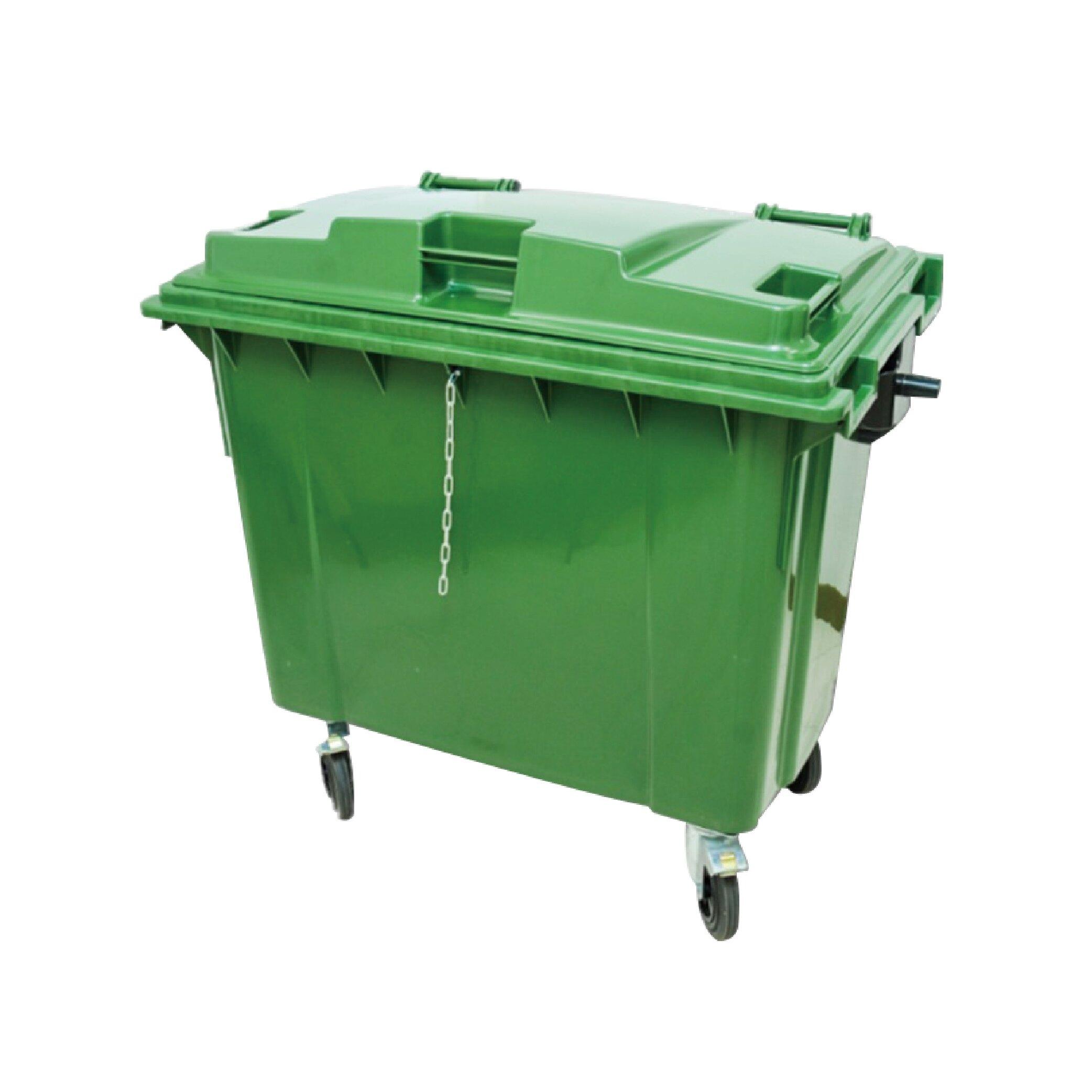 台灣製造 環保資源回收桶 660L♻️環保清潔箱 垃圾子車 垃圾分類車 垃圾子車 分類垃圾統 托桶【大量可議】【免費贈送割字貼紙】