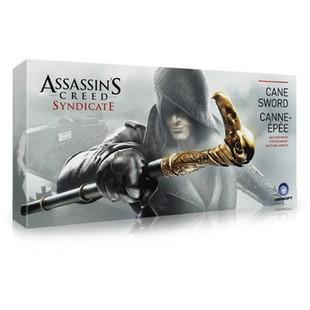 ¤刺客信條6 辛迪加COSPLAY武器道具 1:1 梟雄劍杖 袖柺 手杖袖劍