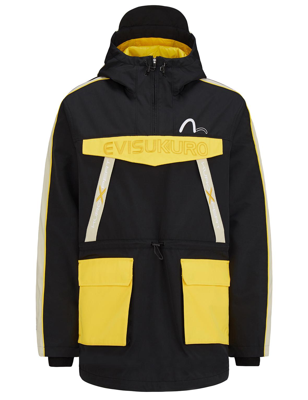 Colorblock Padded Anorak Coat