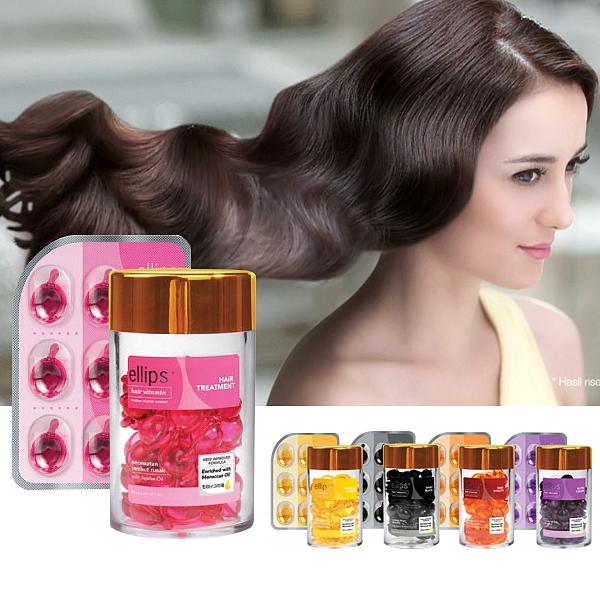 印尼 ELLIPS 護髮膠囊 單片6顆入 頭髮救星 Hair Vitamin 免沖洗【小紅帽美妝】NPRO