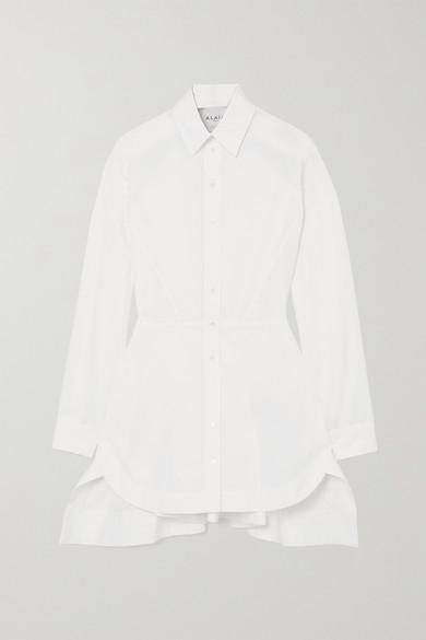 Alaïa - Editions 纯棉府绸衬衫 - 白色 - FR38