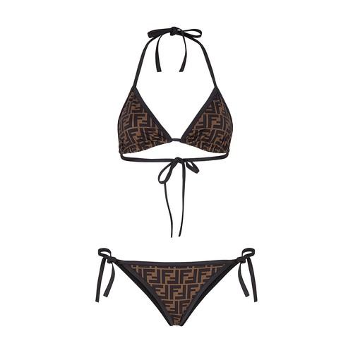 White Lycra® bikini