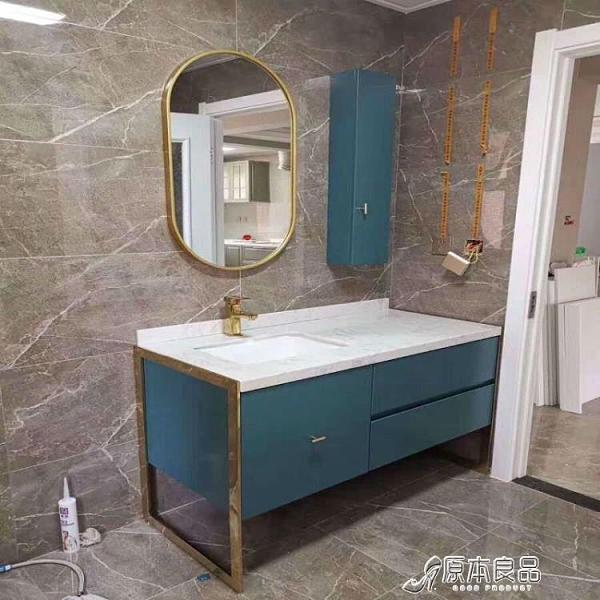 浴室鏡 北歐免打孔貼墻鏡浴室鏡掛墻穿衣鏡創衛生間橢圓形長方形鏡子圓形YYJ【母親節禮物】