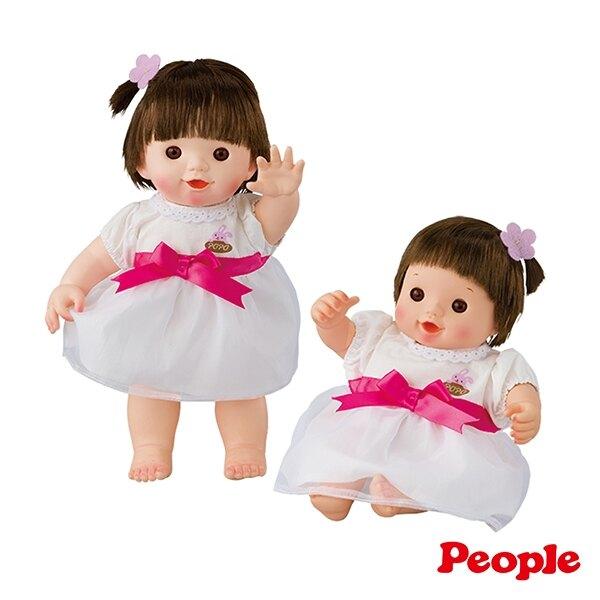 Weicker 唯可 日本POPO-CHAN-衣服系列-POPO-CHAN白紗裙洋裝組合【悅兒園婦幼生活館】