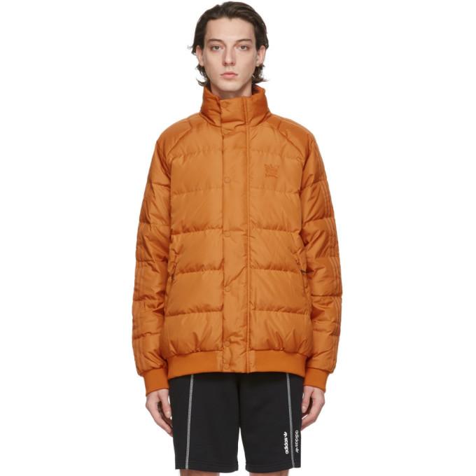 adidas Originals 橙色 Jonah Hill 联名羽绒夹克