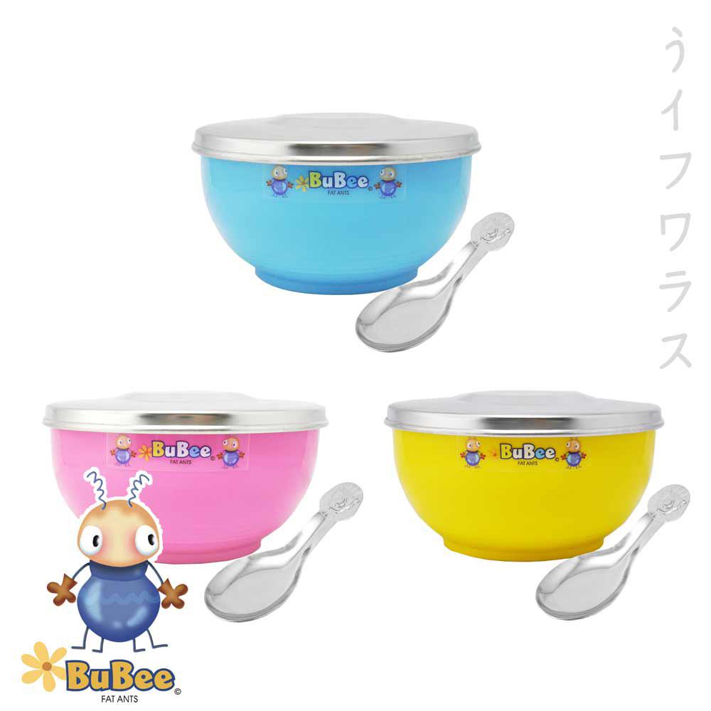 豆豆316雙層隔熱碗-不銹鋼蓋-11.5cm