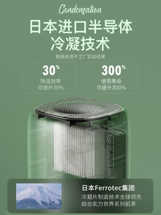 【免運】除濕器 斗禾除濕機家用小型抽濕機臥室除濕器干燥機吸濕器迷你去濕器神器 宜品