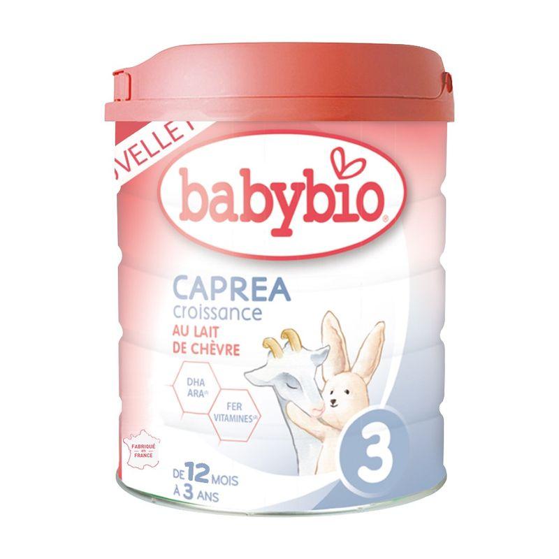 法國Babybio 新幼兒成長配方3 生機放牧羊CAPREA(800g)★愛兒麗婦幼用品★