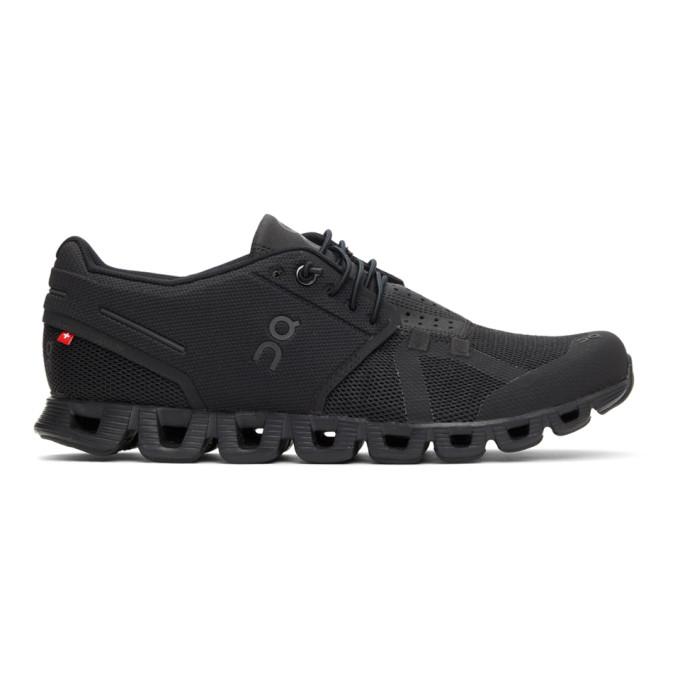On 黑色 Cloud 运动鞋