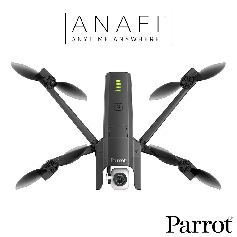 領券最高折300   加送原廠電池 Parrot ANAFI 4K HDR 空拍機 無人機 公司貨