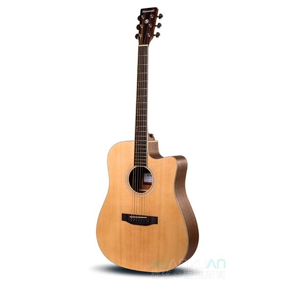 民謠吉他 Neowood 木吉他 Swiftly系列 附琴袋套裝組 SW-DN-1C (DN桶身/缺角)