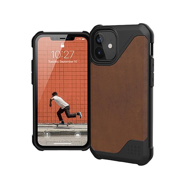 """美國軍規 UAG iPhone12 mini """"5.4"""" (2020) 耐衝擊保護殼都會款 (2色) 強強滾"""