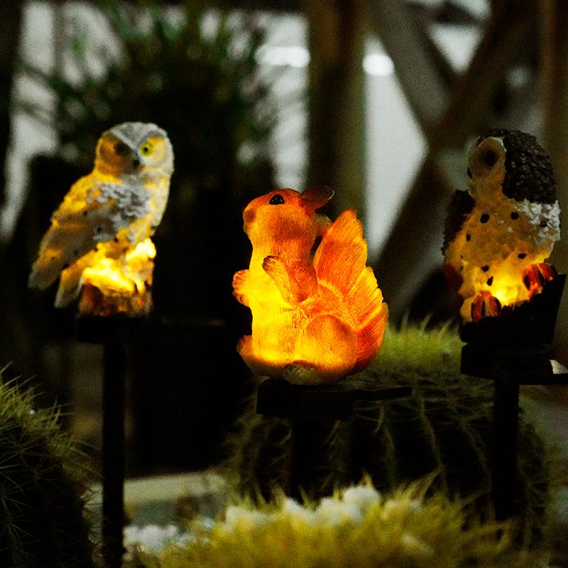 led太陽能戶外燈庭院防水草坪燈花園布置裝飾草地地插景觀小夜燈