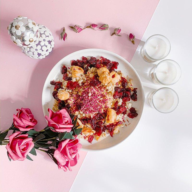 【高纖瘦身早餐】即食燕麥片-荔枝,玫瑰,蘋果 Fresh Romance