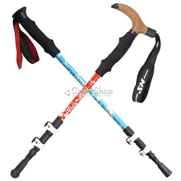 護膝戶外7075登山杖 配件 超輕碳素杖 登山手杖 健走 徒步杖 color shop新品 YYP