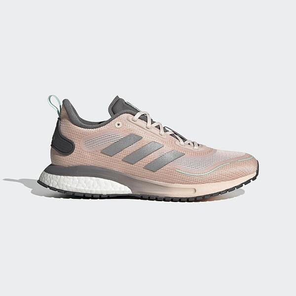 Adidas Supernova C.rdy W [FV4741] 女鞋 慢跑 運動 休閒 支撐 緩衝 彈力 粉 銀