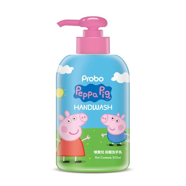 博寶兒抑菌洗手乳-佩佩豬 300ml