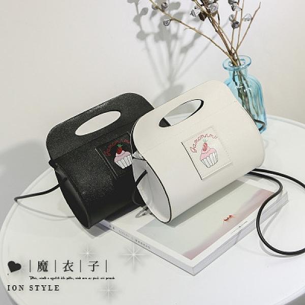 【QP152】魔衣子-櫻桃蛋糕圓樣單肩斜挎小圓包