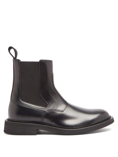 Bottega Veneta - Panelled-leather Chelsea Boots - Mens - Black