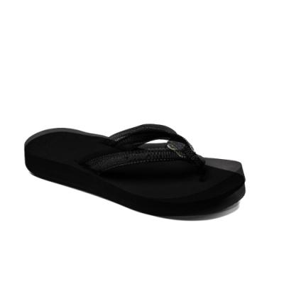 REEF 拖鞋 高科技織帶 人字夾腳 女款 黑 RF001454BK2