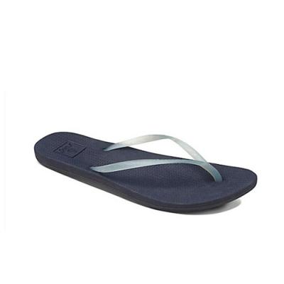 REEF 拖鞋 人體工學 超Q彈橡膠 橡膠夾腳拖 人字拖 女款 藍 RF0A2YFKNAV
