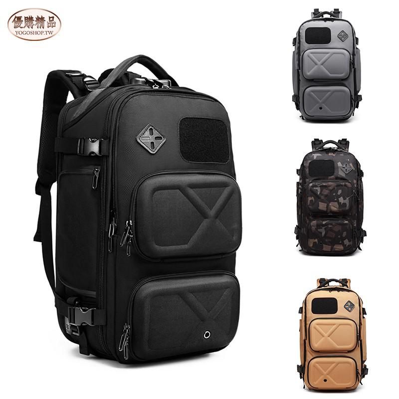 【YOGO優購】ozuko新款戶外雙肩包 男 usb 防盜 大容量 雙肩包 多功能 防水 旅行背包 旅行包 後背包