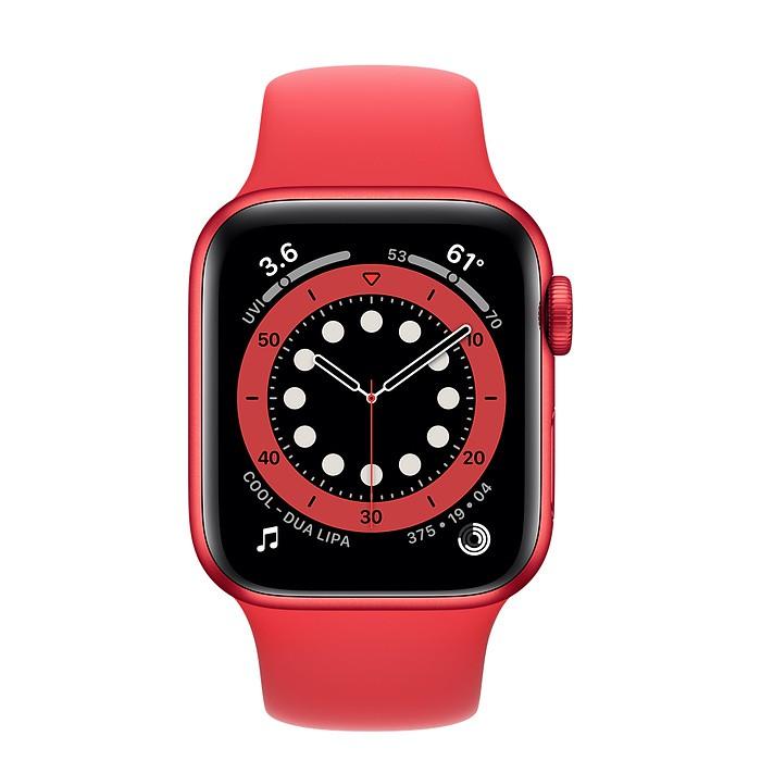 蘋果AppleWatch Series6 40/44公釐(PRODUREDCT)RED鋁金屬錶殼;運動型錶帶-周董的店
