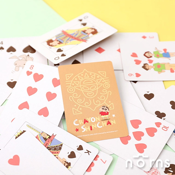 蠟筆小新動感超人夢幻之卡撲克牌- Norns 正版授權No.99 99號金卡 Poker