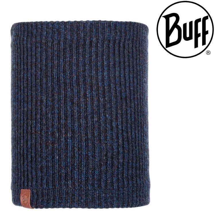 Buff Lyne 針織保暖領巾/頸圍/圍巾 116033-779 夜色藍