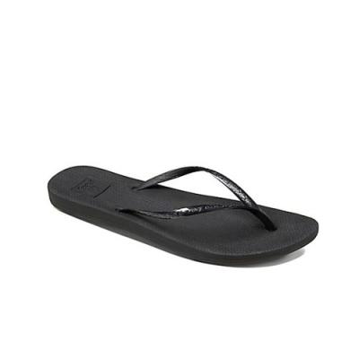 REEF 拖鞋  夾腳拖 人字拖 黑色 女鞋 RF0A2YFKBLA