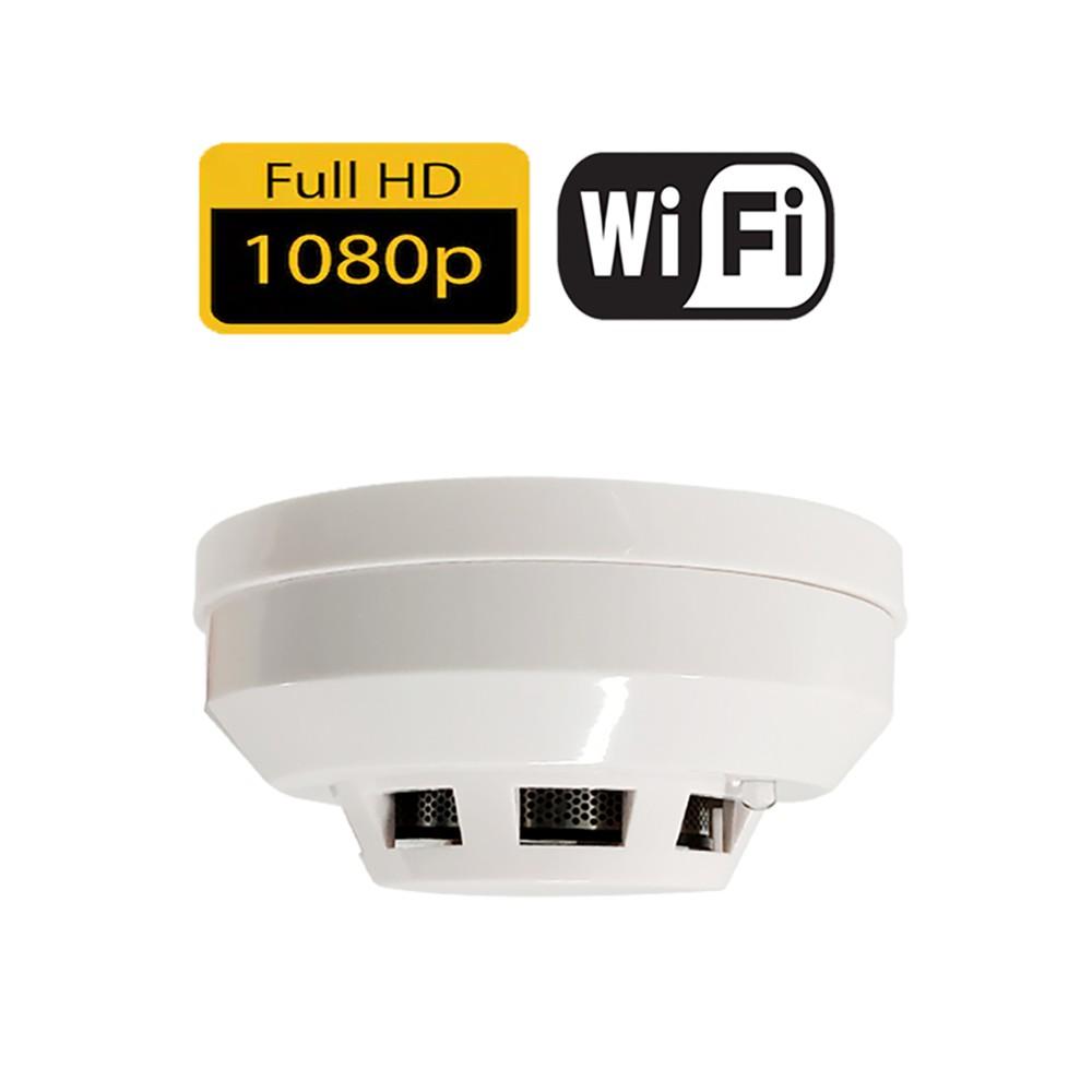 [ UFO3 ] 真1080P畫質 75度超廣角 手機APP 仿真煙霧感應器 無線針孔攝影機 無線微型攝影機 無線攝影機
