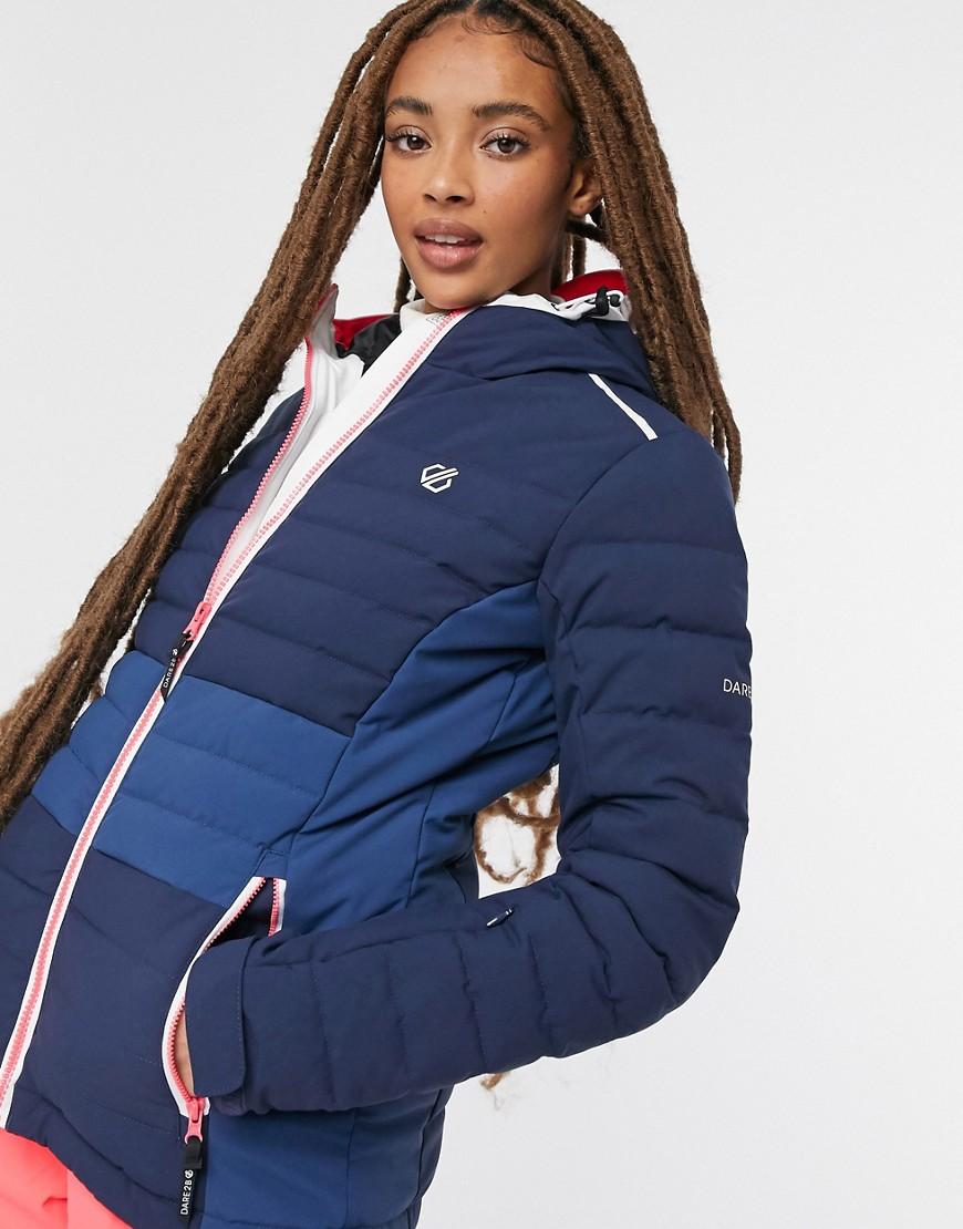 Dare 2b Succeed jacket in nightfall navy & dark denim-Multi