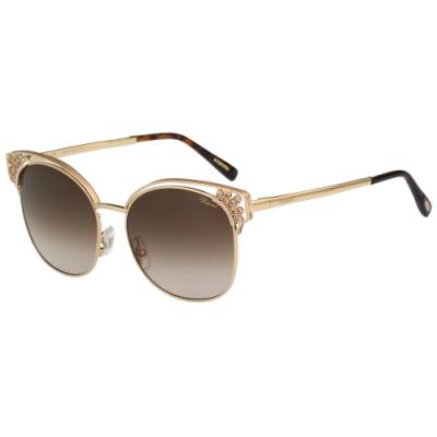 Chopard 水鑽 太陽眼鏡(金色)SCHC24S