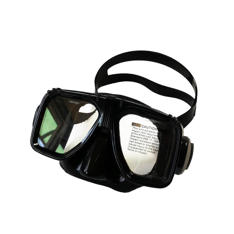 {TOPIS}M2017 鋼化玻璃矽膠面鏡【gogoscuba】