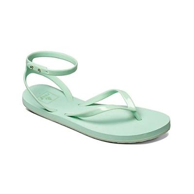 REEF簡單好搭金屬扣可調女神羅馬涼鞋.薄荷綠RF0A2YF7MIN
