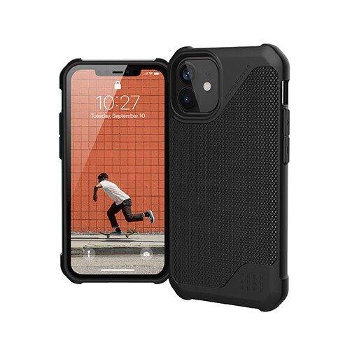 """美國軍規 UAG iPhone12 mini """"5.4"""" (2020) 耐衝擊保護殼都會款 - 極簡黑"""