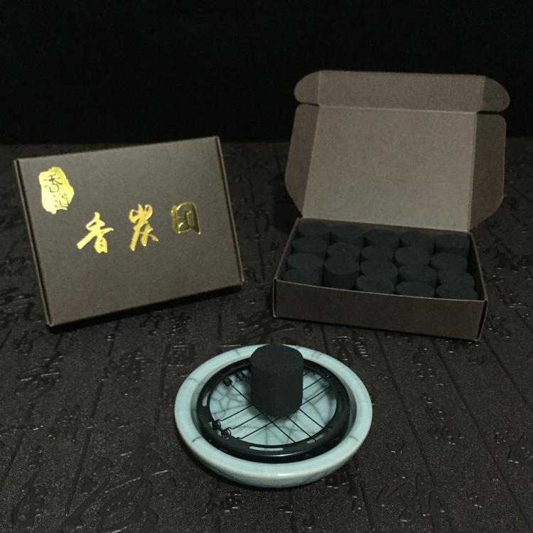 Shopp709*九州香道 香炭團香道專用無煙無味無毒養爐碳隔火熏香炭熏空熏炭