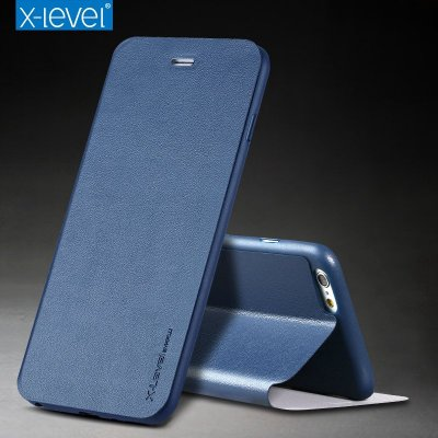 X-level 蘋果iPhone 6 6S 7 8 Plus 掀蓋殼 i6 i6p i7 i7p 手機保護殼 翻蓋皮套