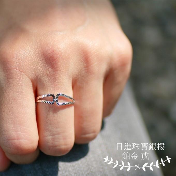 鉑金PT950- 戒指(款式22)