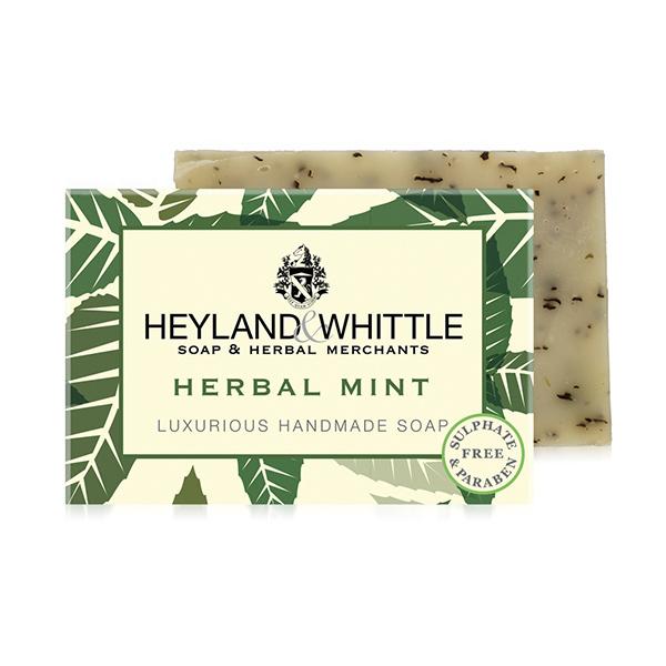 H&W英倫薇朵 綠野薄荷手工香氛皂 120g