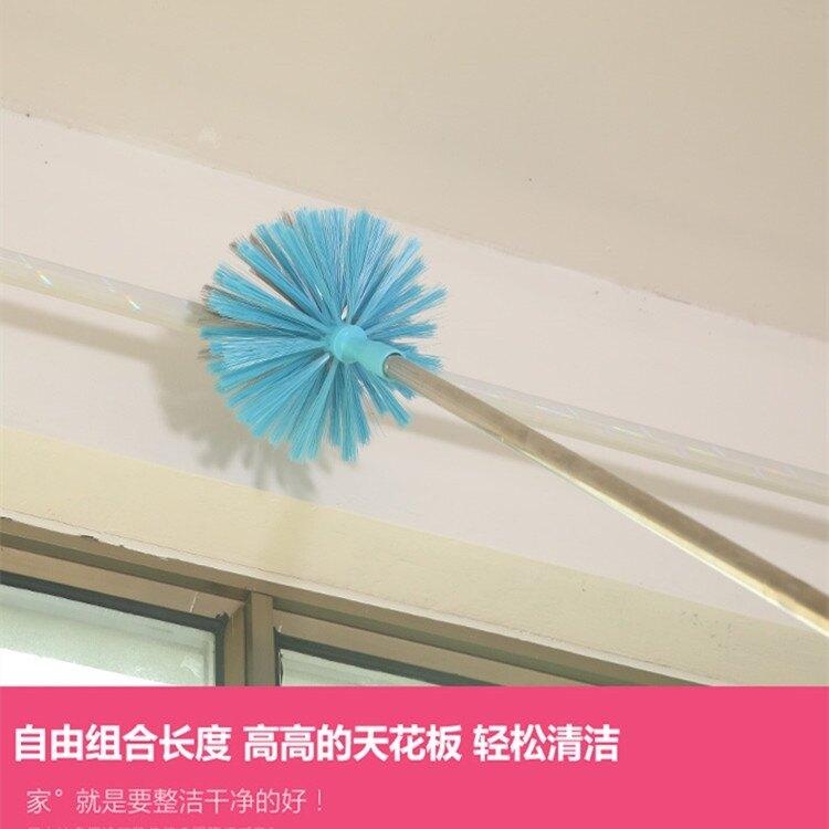 屋頂清潔刷天花板刷加長除塵掃把蜘蛛網刷長柄掃把除塵刷 i 現貨快出