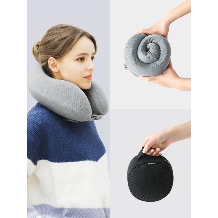 旅行枕護頸枕u型枕男女便攜充氣記憶棉枕頭長途坐車睡覺神器脖枕
